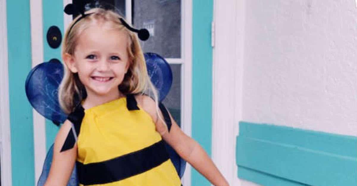 Easy Sew DIY Bumblebee Costume for Kids