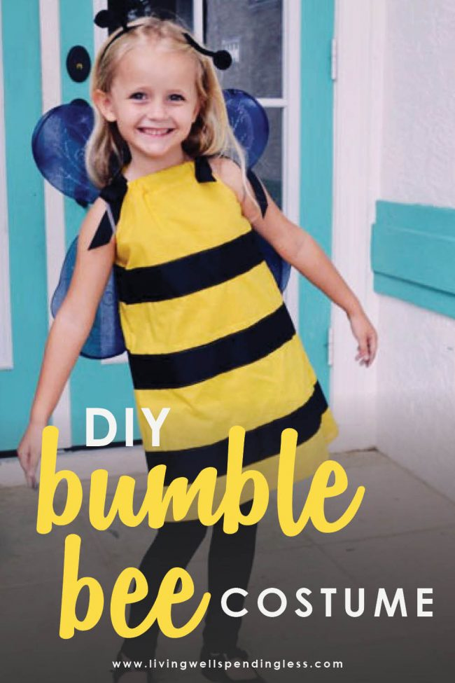 Looking for an adorable and simple costume? This bumblebee costume is adorable, and so easy to make! Your little one will love it and so will you.