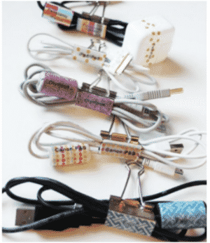 organize cords from Kids Activities blog