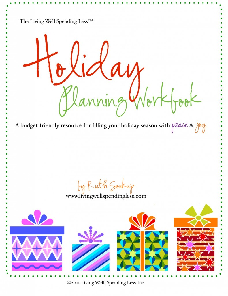Holiday Planner 2013 | How to Save on Food for the Holidays | Printable Holiday Planner | Holiday Scheduler | Staff Planner
