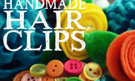 Easy Handmade Hair Clips