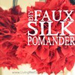 Faux Silk Pomander Square 3