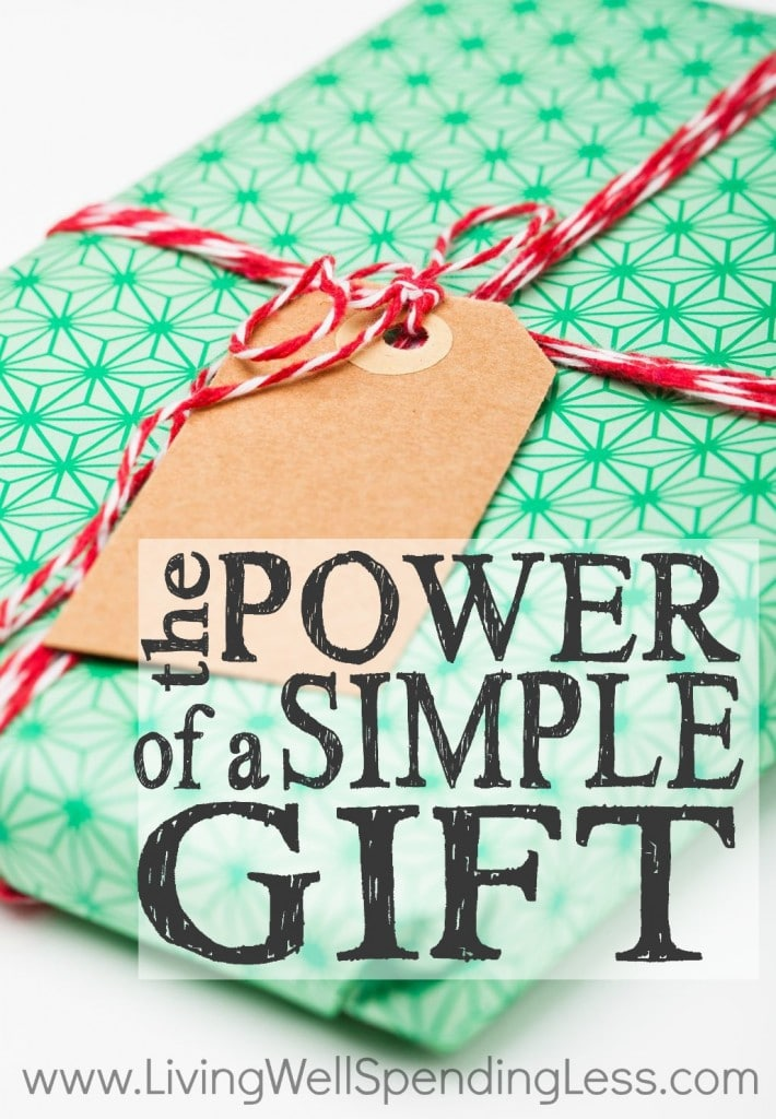 The Power of a Simple Gift