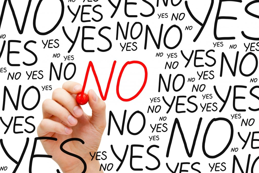 Learning to say no is key to simplifying your life.