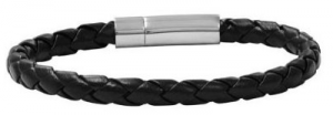 This leather bracelet is beautiful and a bargain!