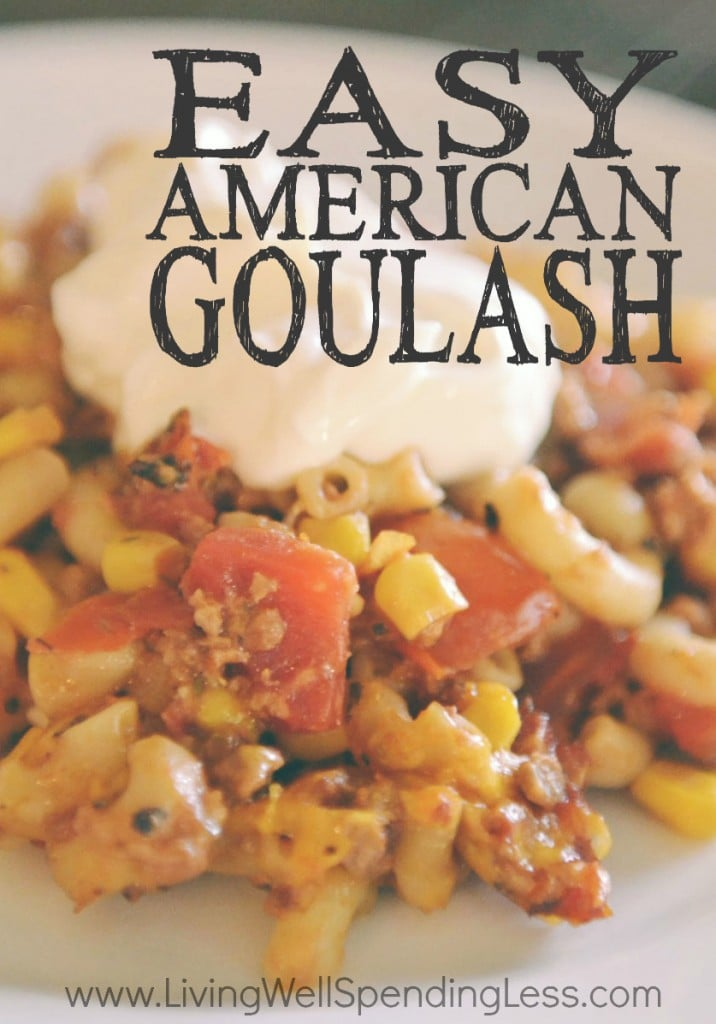 Easy American Goulash: A Crowd-Pleasing Vegetarian Dinner Recipe