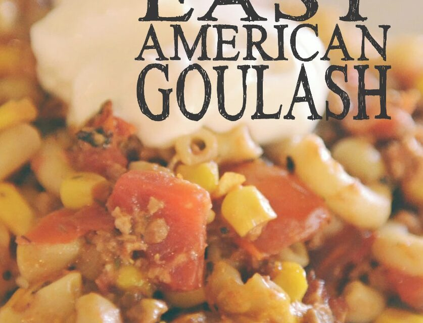 Easy American Goulash