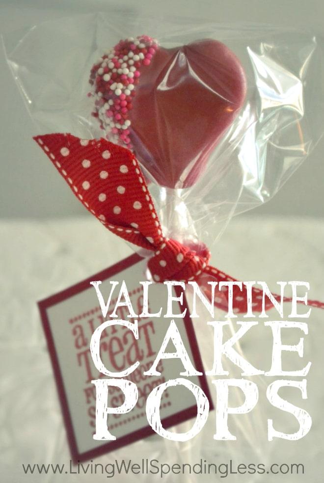 Valentine's Day Cake Pops   How to Make Valentine's Day Cake Pops   Valentine Cake Pops   DIY Cake Pops