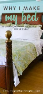 Cleaning Ideas | Cleaning Hacks | Cleaning Tips | Life Hacks | Home Management | Cleaning Motivation | Why I Make the Bed | Home Organization