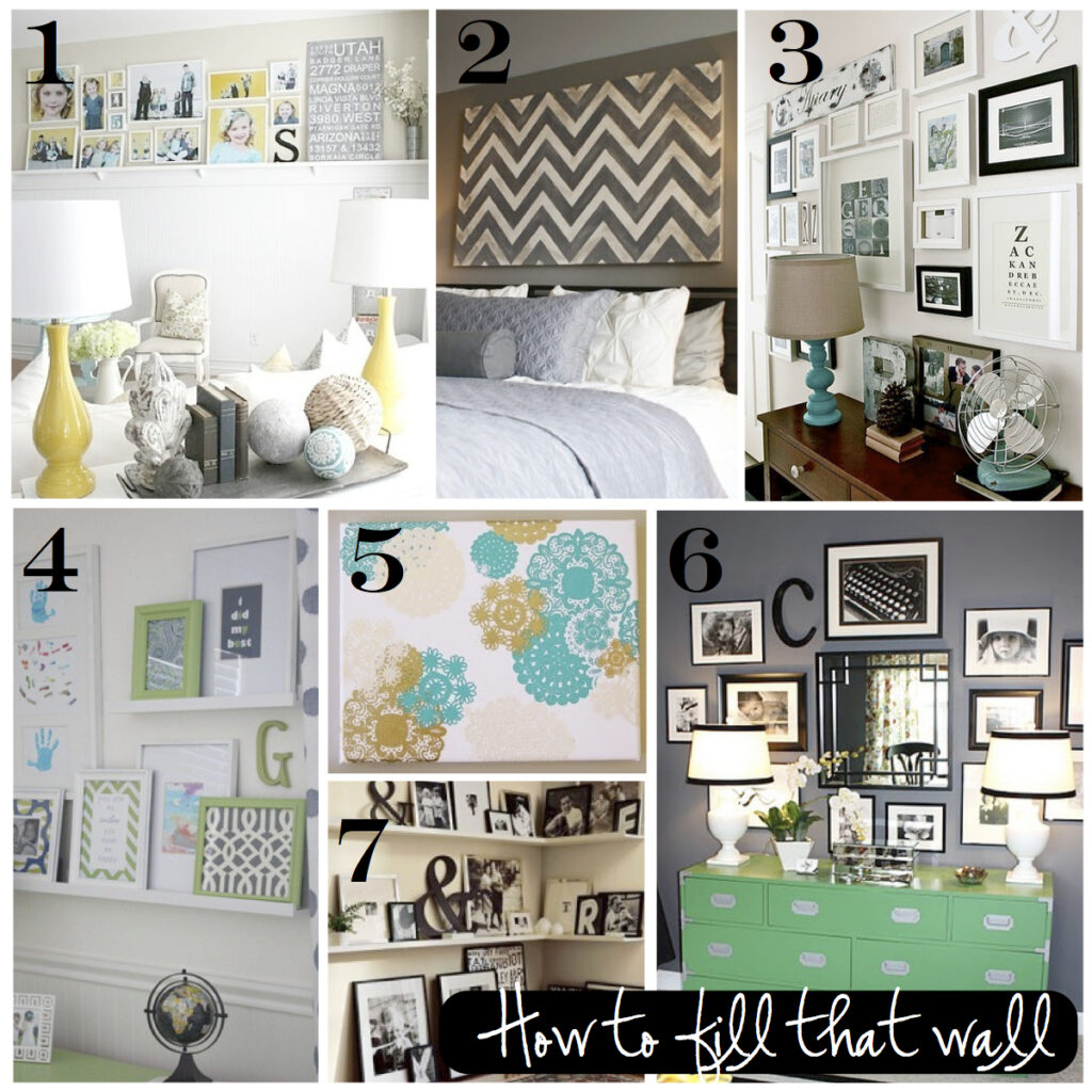 Many ideas to inspire your gallery wall