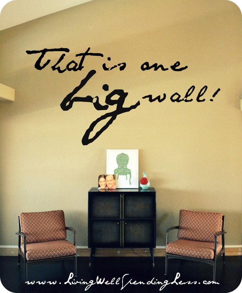How to Create a Gallery Wall in 6 Easy Steps | Living Well Spending Less