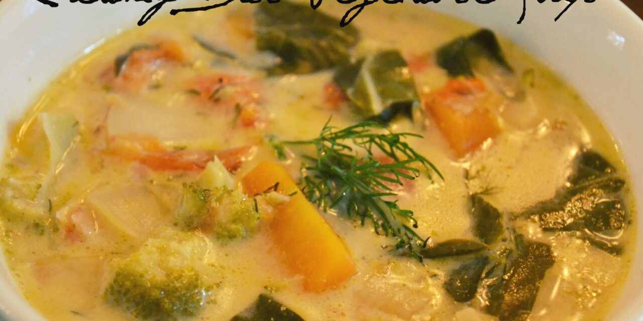 Creamy Dill Vegetable Soup
