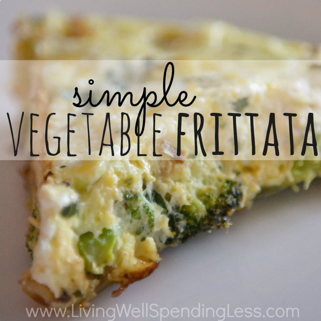 Simple Vegetable Frittata Recipe