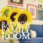 Rainbow Family Room Square