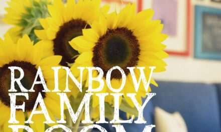 Our Rainbow Family Room