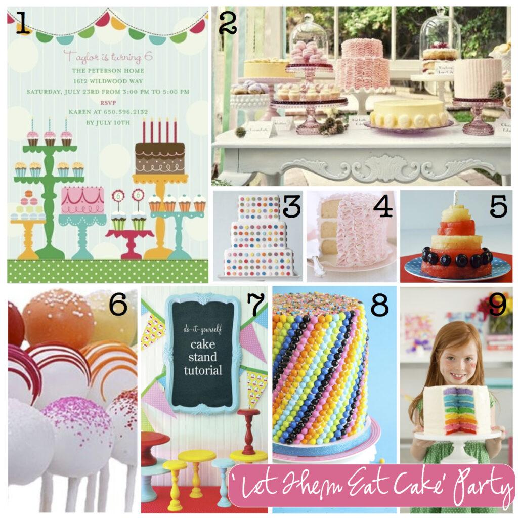 Let Them Eat Cake - Birthday Party Inspiration