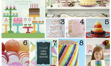 CAKE Party Inspiration