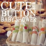 Cute as a Button Baby Shower Square 2
