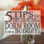 5 Tips for Decorating a Dorm Room on a Budget Square 1