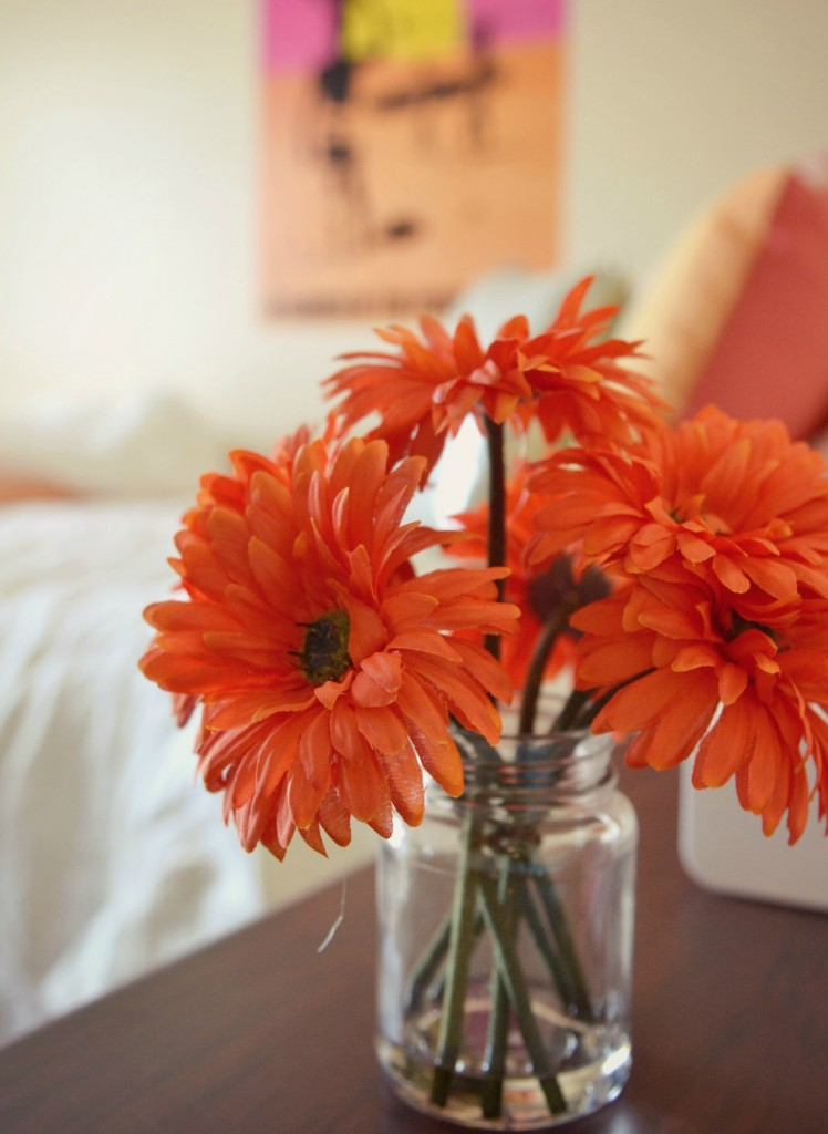 Decorating a dorm room can be eye-opening as well as a teaching/learning experience.