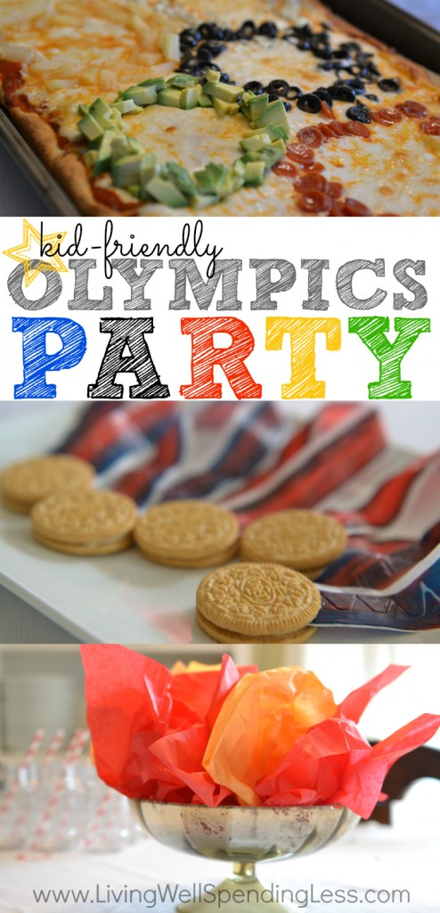 Simple Kid Friendly Olympics Party