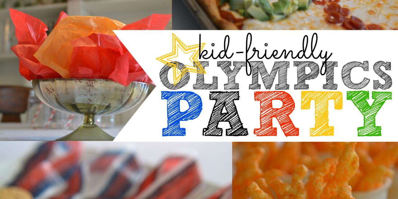 Simple Kid-Friendly Olympics Party