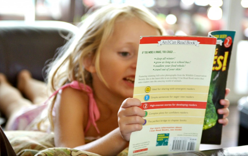 Encourage your kids to read, read, read!