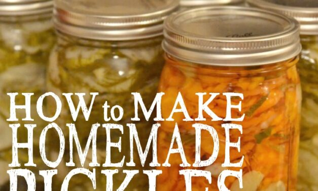 How to Make Homemade Pickles