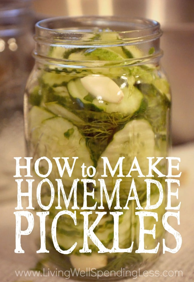 How to Make Homemade Pickles Vertical 2