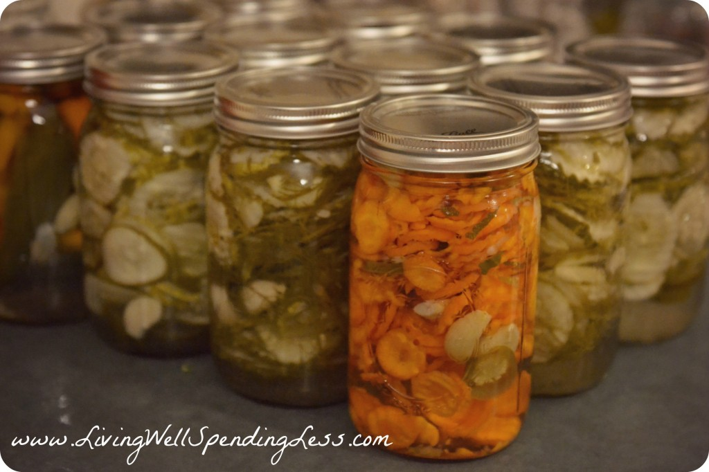 How to Make Homemade Pickles--awesome step-by-step tutorial for making homemade pickles.  Easy to follow even if you've never made them before!