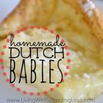 Homemade Dutch Babies | Homemade Dutch Babies Recipe | How to Make Dutch Babies | Dutch Babies Recipe | Easy Dessert Recipe