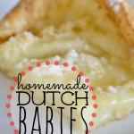 Homemade Dutch Babies   Homemade Dutch Babies Recipe   How to Make Dutch Babies   Dutch Babies Recipe   Easy Dessert Recipe