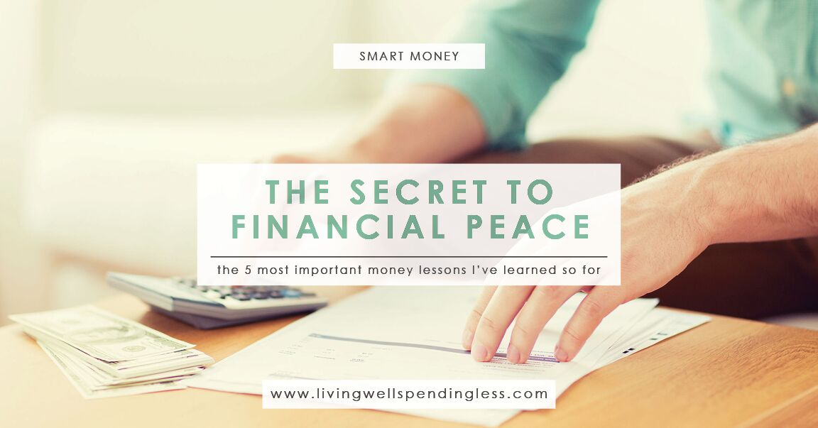 In Search Of Financial Peace 5 Things Ive Learned Living Well