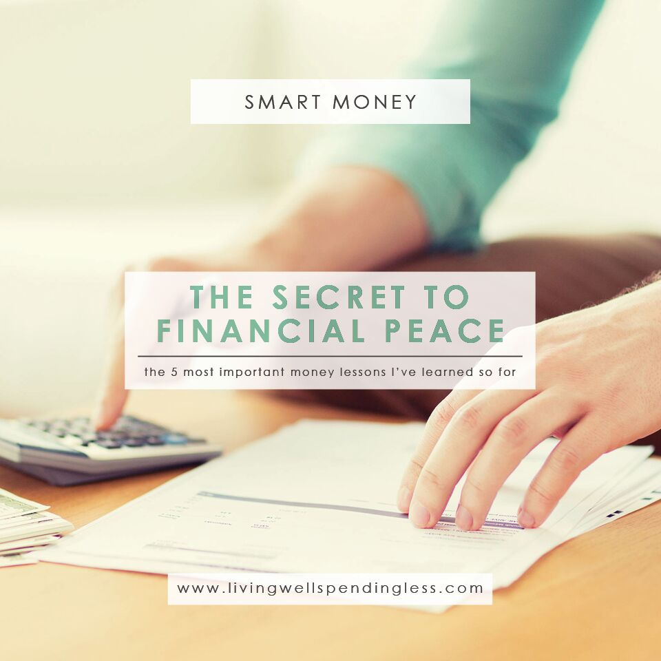 In Search of Financial Peace: 5 Things I've Learned So Far ...
