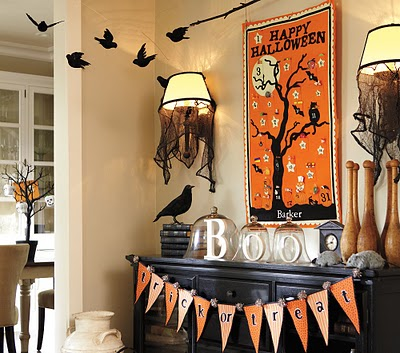 Pottery Barn Inspired No-Sew Halloween Bunting - Living ...