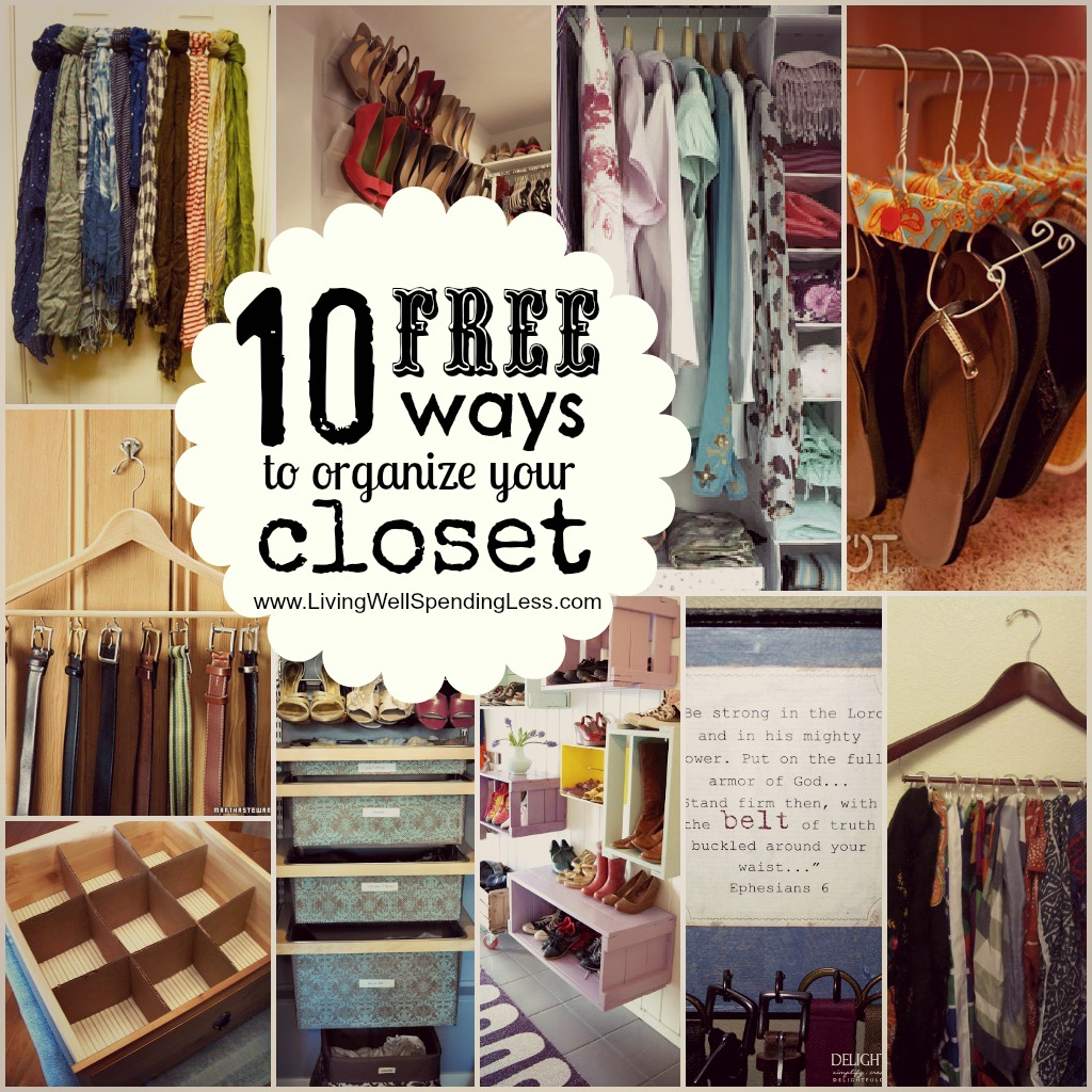Organize Your Bedroom Closet How To Free