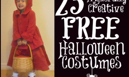 Free Halloween Costumes {Day 17}