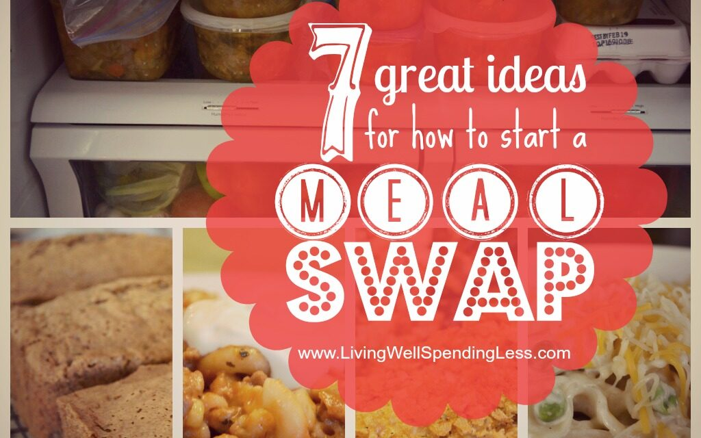 Plan a Meal Swap {Day 4}