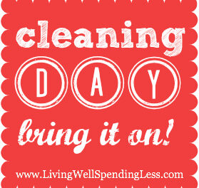 Cleaning Day {Day 9}