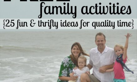 Free Family Activities {Day 27}