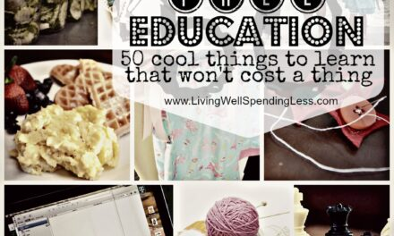 Get a Free Education {Day 6}