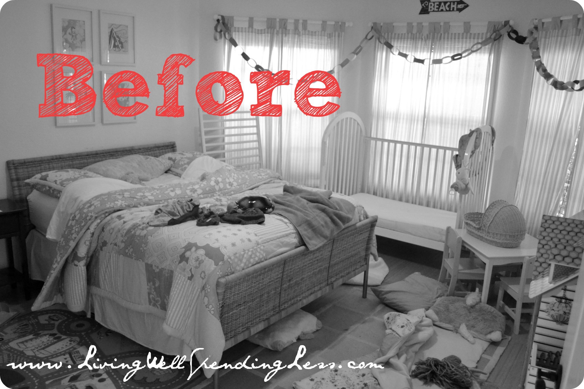 Clean your kids 39 room day 10 living well spending less for The clean bedroom