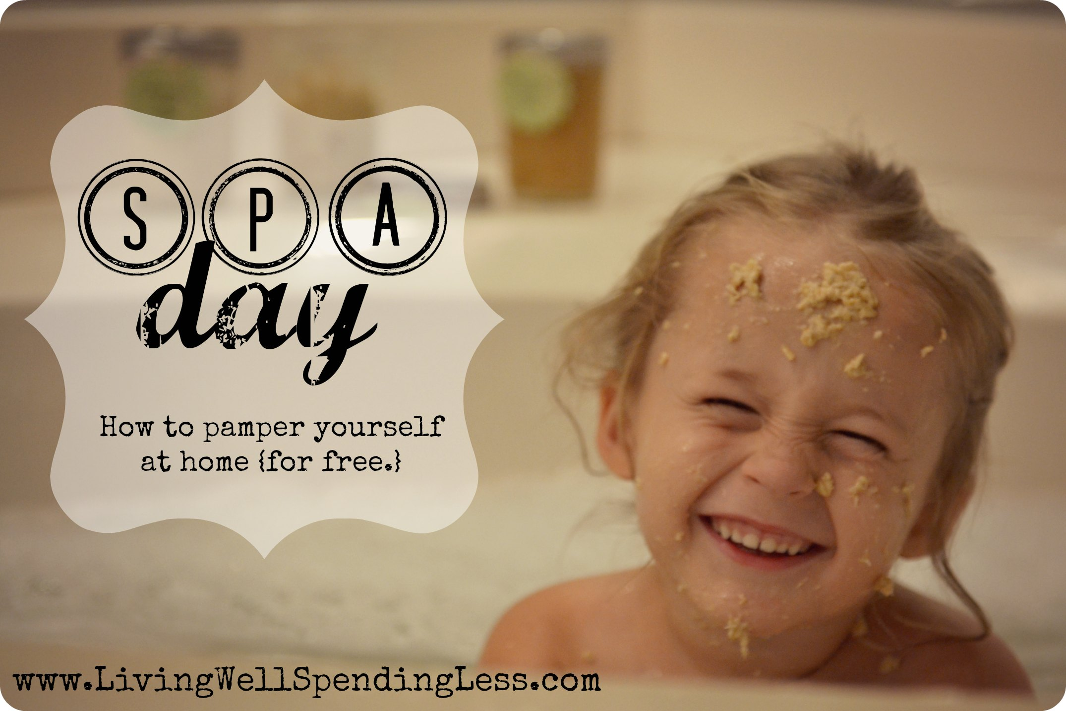 Have a spa day at home day 20 living well spending less for A better day salon