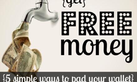 Get Free Money {Day 23}