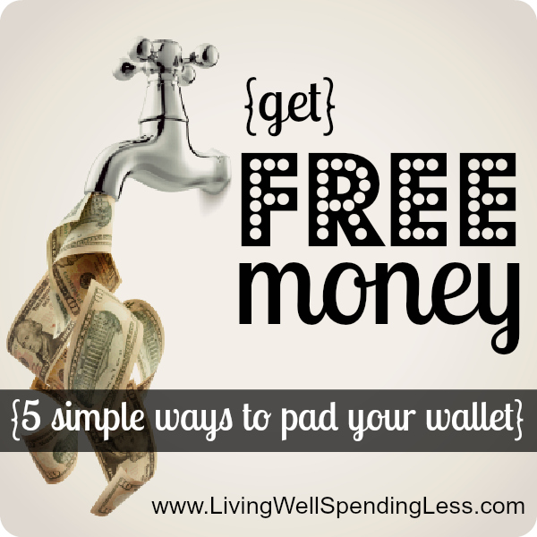 Get Free Money | 31 Days of Living Well & Spending Zero | Money Saving Tips | Financial Hacks | Emergency Fund