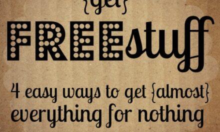 Get Free Stuff {Day 24}