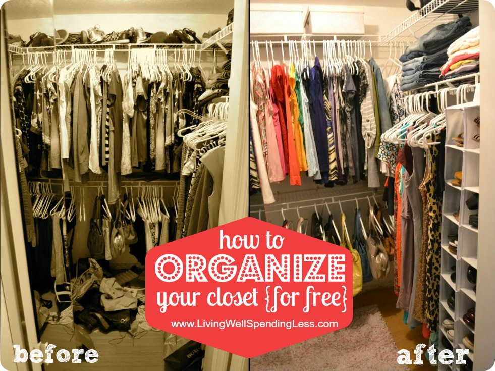 Organize Your Bedroom Closet | How To Organize, Closet | Organize Bedroom  Closet | Free