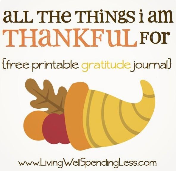 FREE Printable Gratitude Journal   Gratitude Journal Printable   Free Gratitude Journal PDF