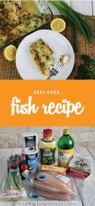 Need some inspiration to try something new for dinner? This foolproof recipe is not only amazingly delicious, it works with almost any type of fish!