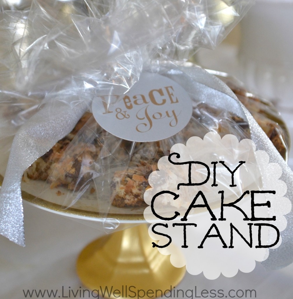 Easy DiY Cake Stand | Gorgeous DIY Cake Stands | Cake Stands DIY | DIY Tiered Cake Stands